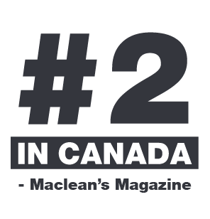 UNBC is ranked #2 by Maclean's Magazine